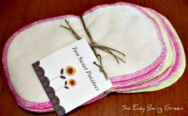 Two Sweet Potatoes Cloth Wipes