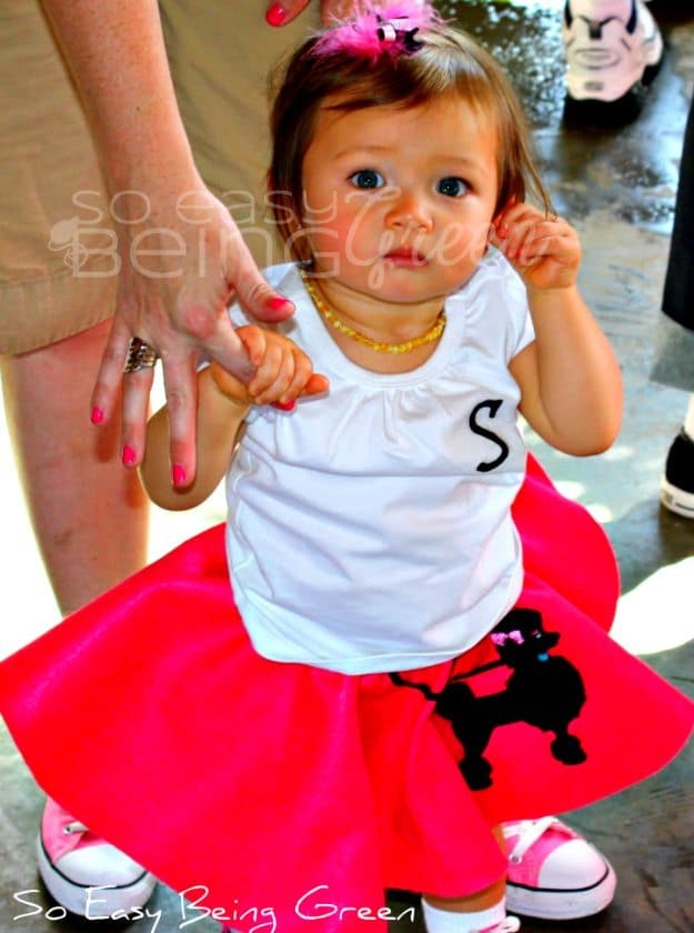 Birthday Bash Toddler Poodle Skirts