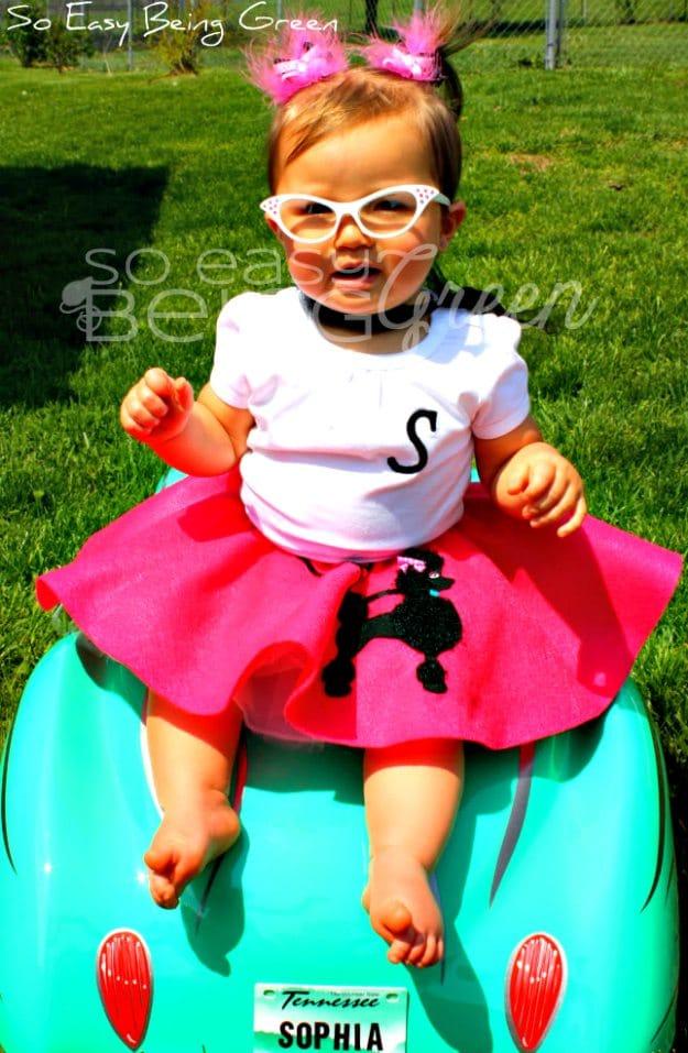 Birthday Bash Toddler Poodle Skirts