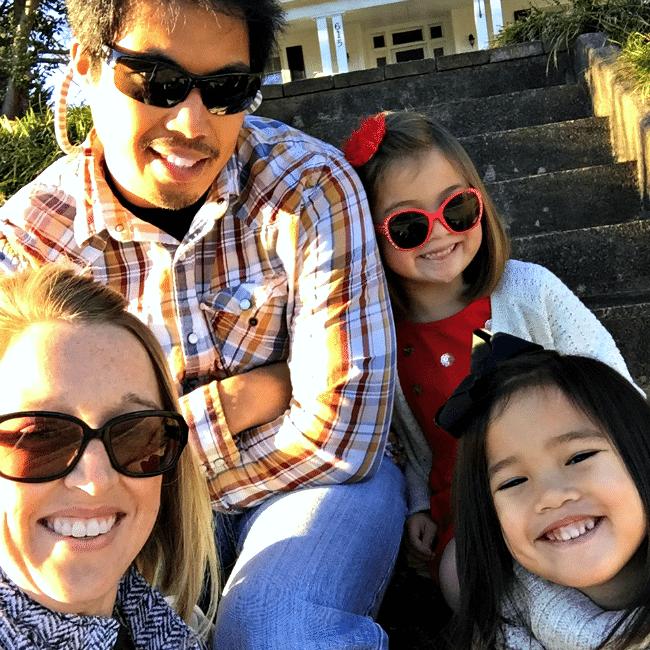 Family Selfie Christmas