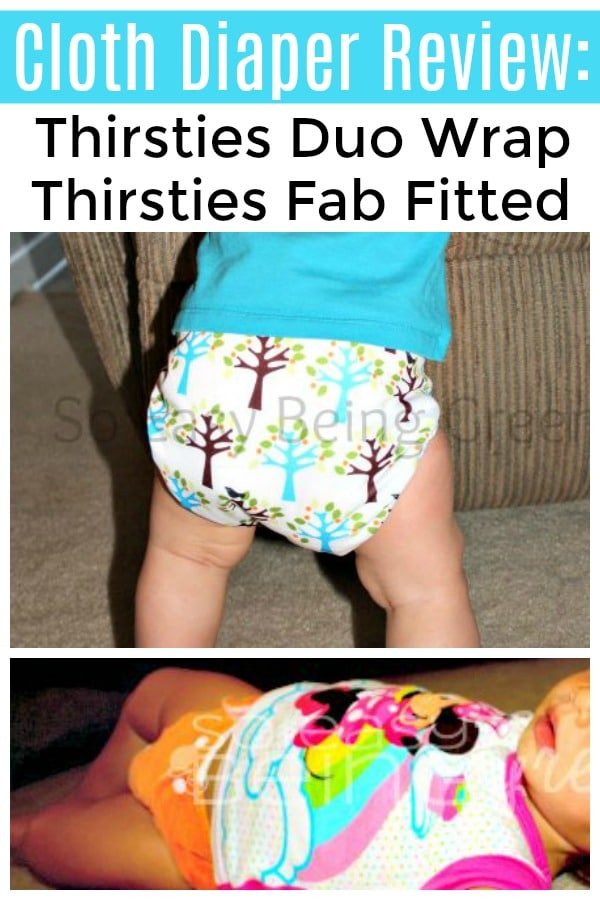 Thirsties duo wrap review cloth diaper cover on baby