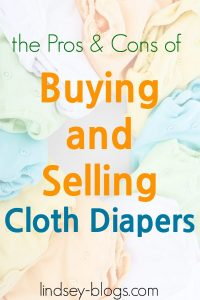 Should I Buy Used Cloth Diapers?