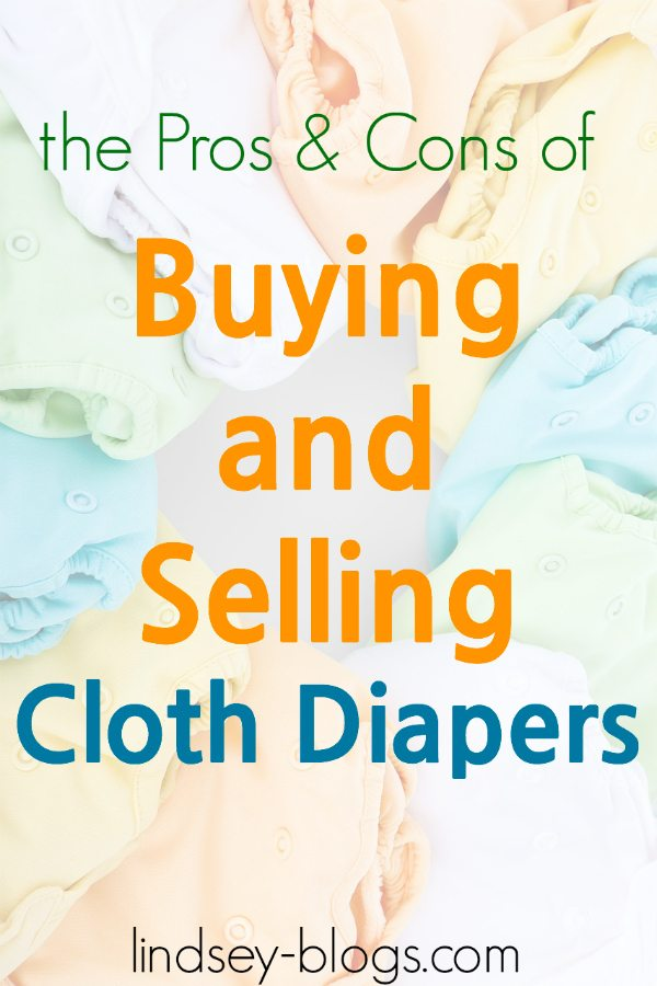 Selling and Buying Used Cloth Diapers