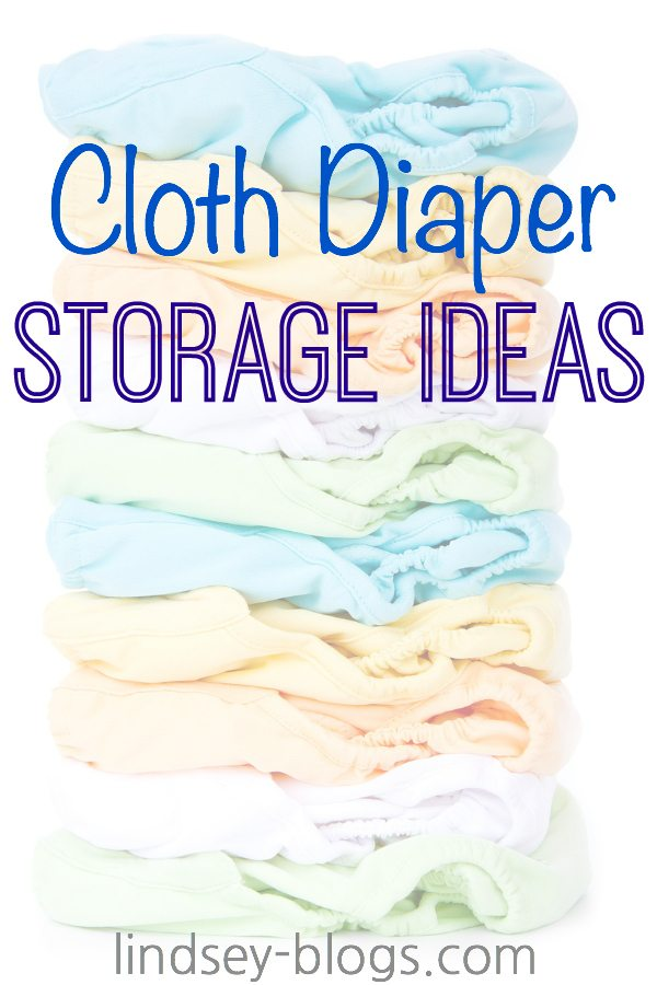 Cloth Diaper Storage Ideas