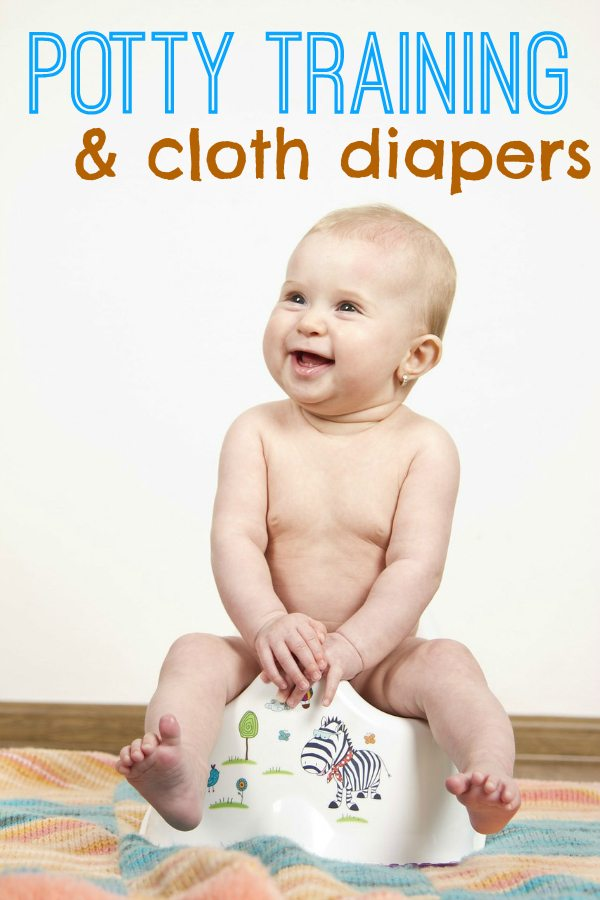 potty training with cloth diapers
