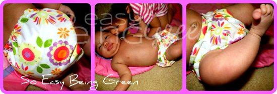 Thirsties Duo AIO on Newborn