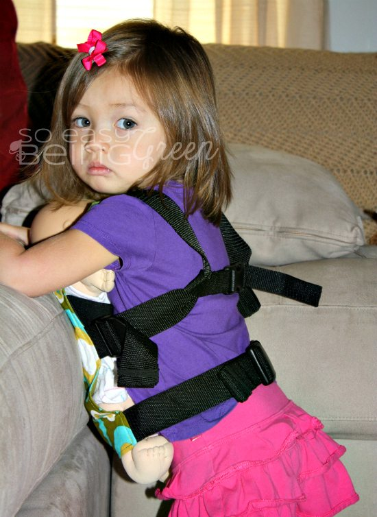 A doll baby carrier makes a great sibling gift for older children when you're a babywearing family.