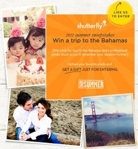 Shutterfly's Long Live Summer Photo Contest