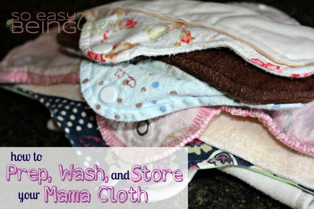 mama cloth laundry