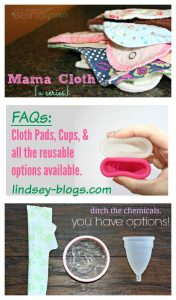 Mama Cloth {a Series}: Part 6 – Switching for the Future