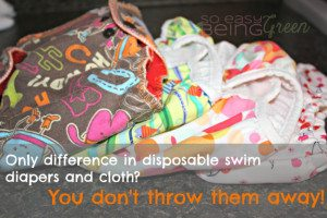 Not ready to switch to Cloth Diapers? You Can Still Use Cloth Swim Diapers