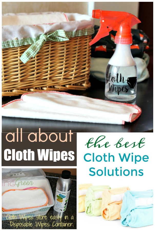 All About Cloth Wipes