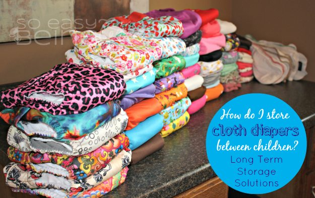 How to store cloth diapers Girls clothing stores