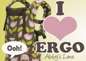 Ergobaby Giveaway sponsored by Abby's Lane