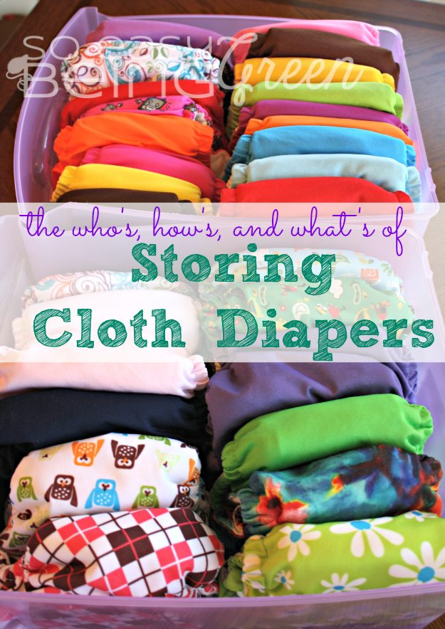 Storing Cloth Diapers