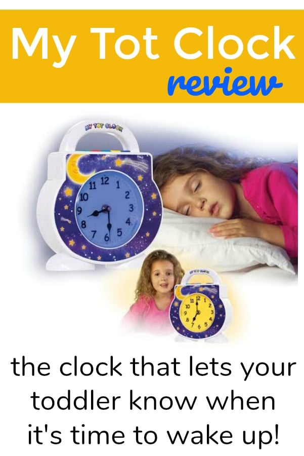 My Tot Clock - the toddler clock that teaches your child when to wake up
