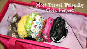 Fluffy Friday: The Best Cloth Diapers for the Stroller