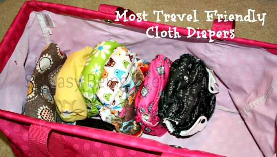 Travel Friendly Cloth Diapers