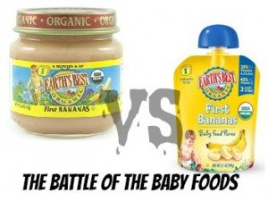 Baby Food Pouches vs Jars