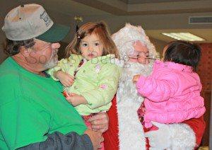 A Family Santa Visit