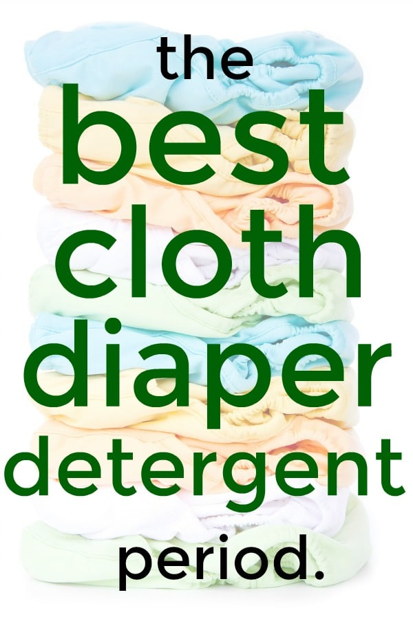 Best Cloth Diaper Detergent