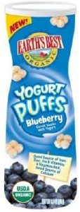 Earth's Best Organic *NEW* Yogurt Puffs