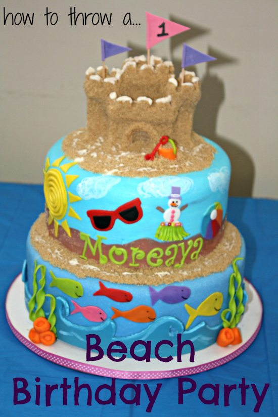 Its A Beach Birthday Party