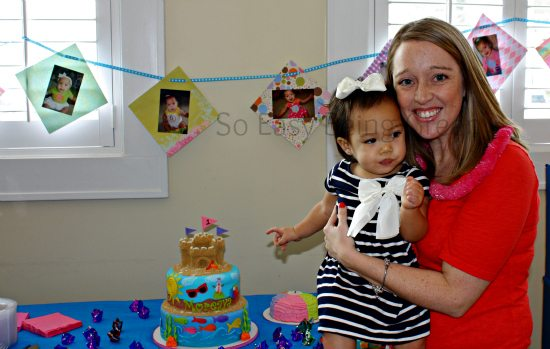 Mommy and Birthday Girl