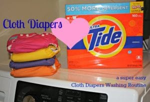 Best Cloth Diaper Detergent + Cloth Diaper Wash Routine