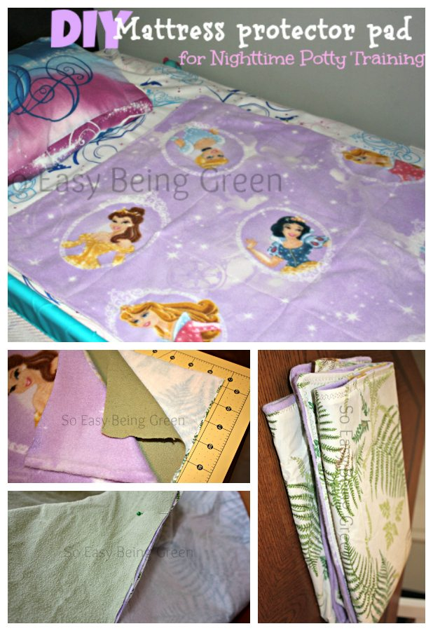 DIY Mattress Pad Cover