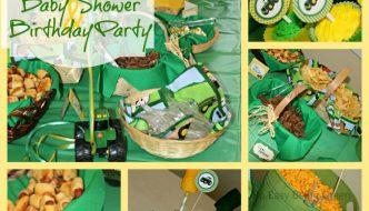 John Deere Baby Shower