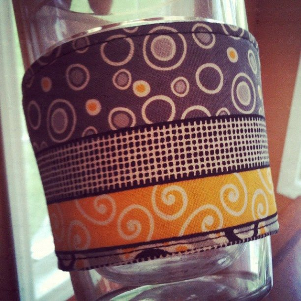 Begginer Sewing: Coffee Cozy