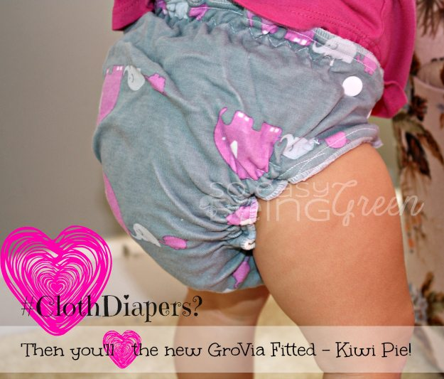 GroVia Fitted Cloth Diaper