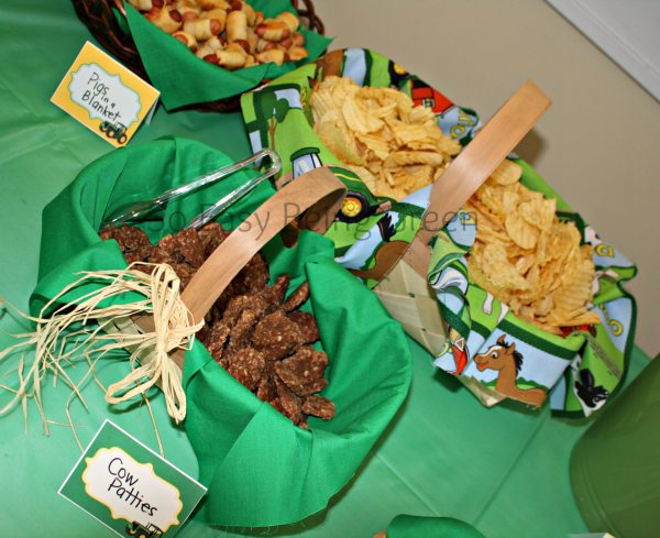 Food Ideas For Themed Baby Showers And John Deere Baby Shower