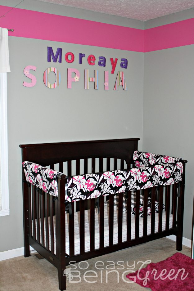 handmade crib bedding