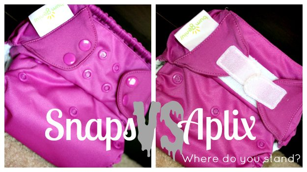 aplix cloth diapers or snap cloth diapers - which is better