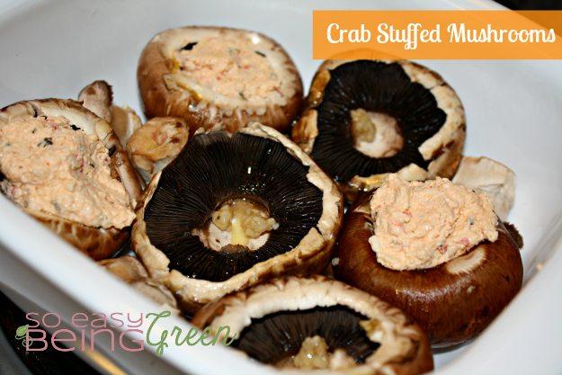 stuffing mushrooms