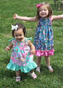 Wordless Wednesday: Handmade Easter Dresses