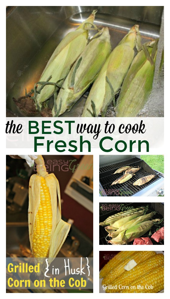 Best way to cook fresh corn on the cob