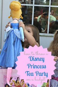 A Princess Tea Party Birthday