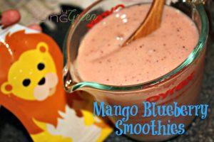 Mango Blueberry Smoothies