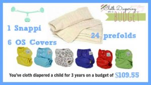 Clothing Diapering on a Budget: Prefolds and Covers