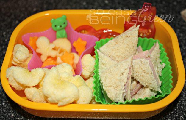 Toddler Bento lunch