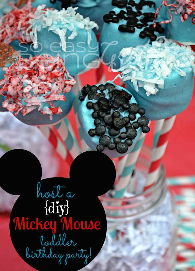... you need to throw a fabulous DIY Mickey Mouse Birthday Party