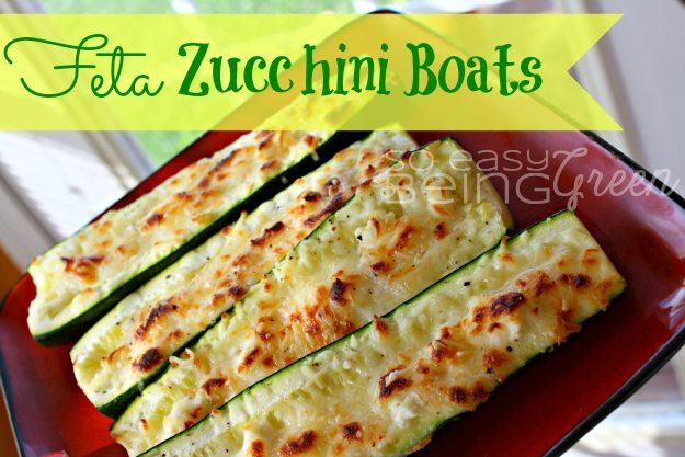 Feta Zucchini Boats