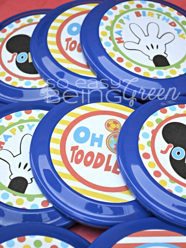 Mickey Mouse Frisbees