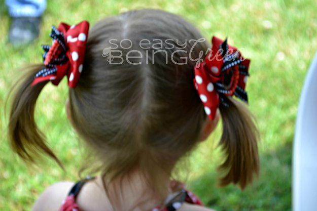 Mickey Mouse Hairbows