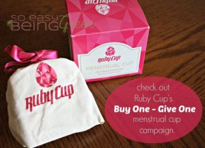 Buy One – Give One: The Ruby Cup Campaign