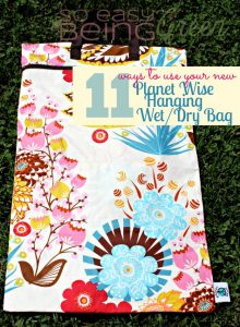 11 Different Ways to Use a Cloth Diaper Wet Bag
