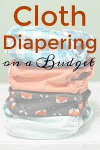 Tips for Cloth Diapering on a Budget